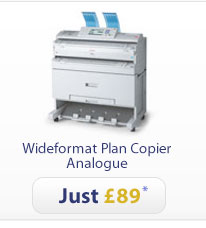 Wideformat Plan Copier Analogue